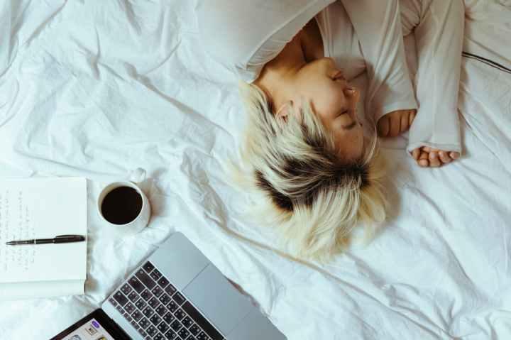 Kaffee-Schläfchen