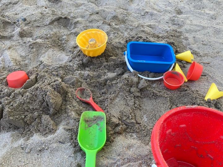 Urlaub im Sandkasten
